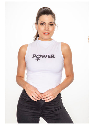 POWER crop top