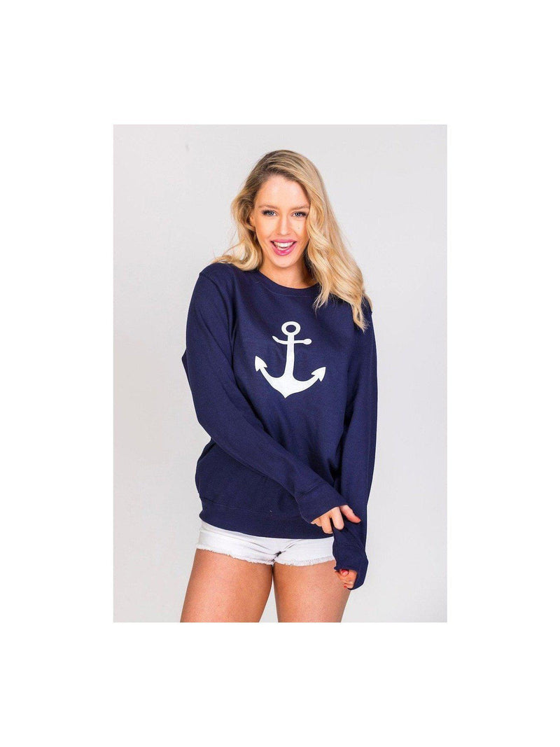 ANCHOR sweat in navy