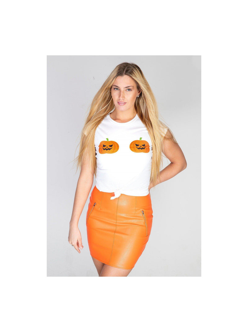 PUMPKIN chest t shirt