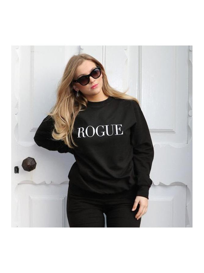 ROGUE sweatshirt in black
