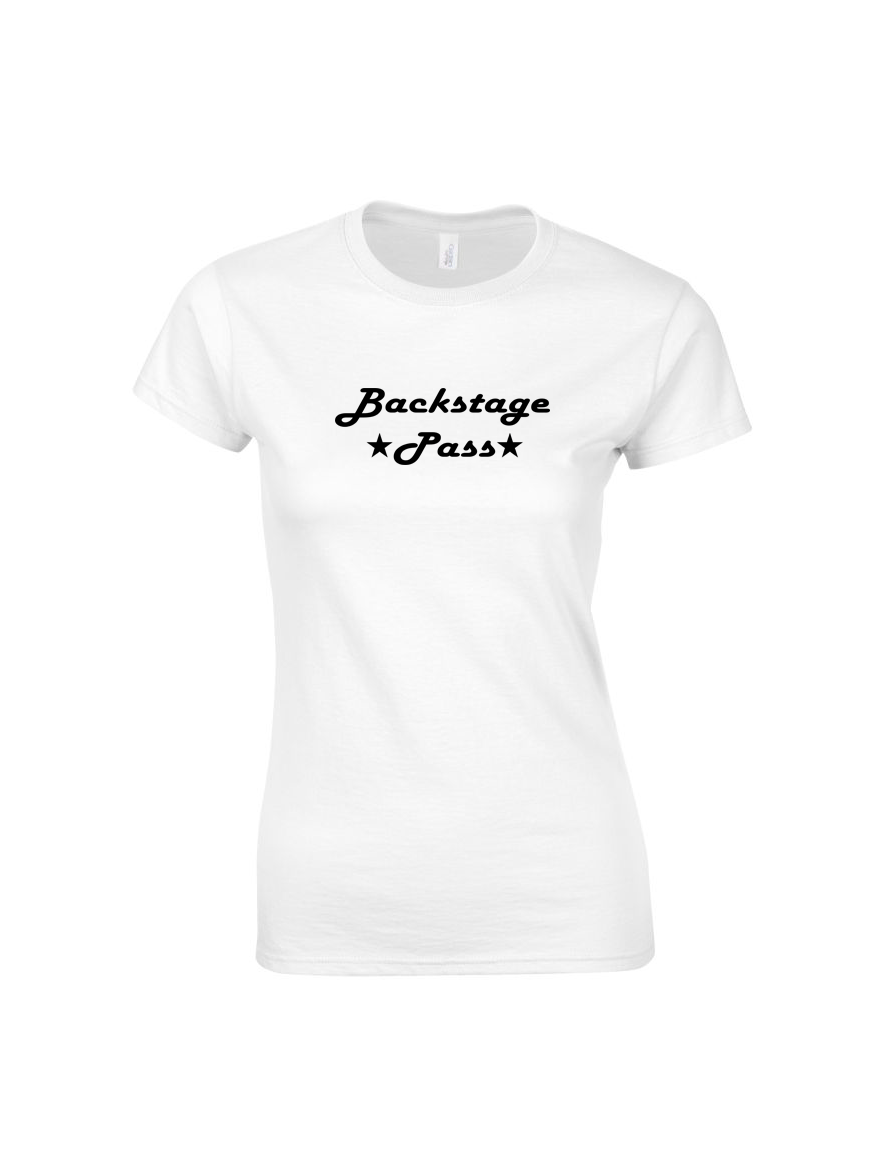 BACKSTAGE PASS t shirt