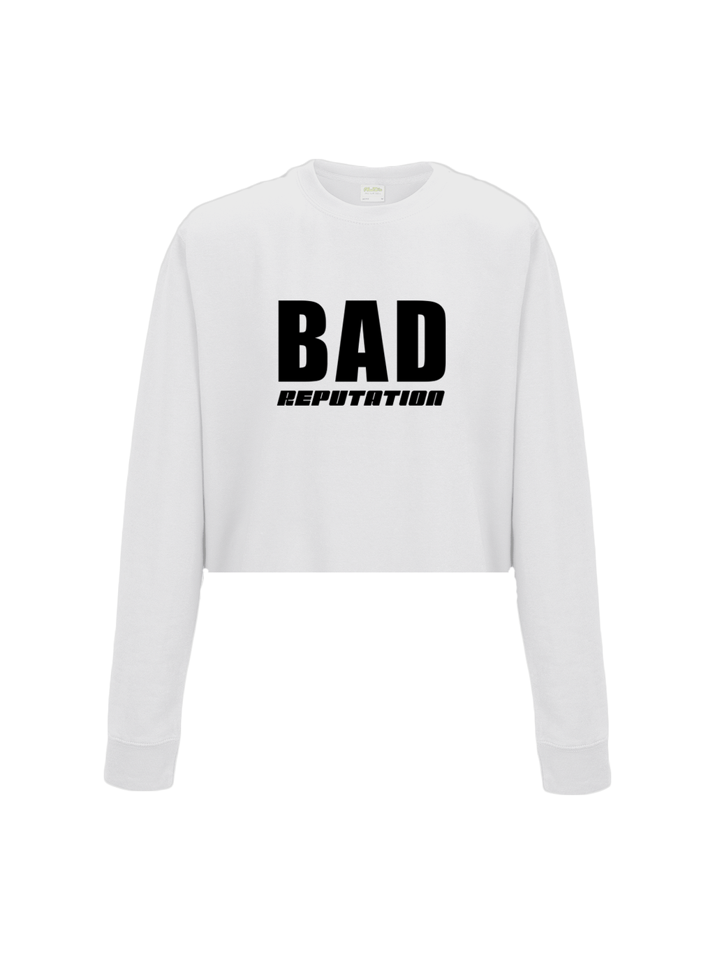 BAD REPUTATION cropped sweatshirt