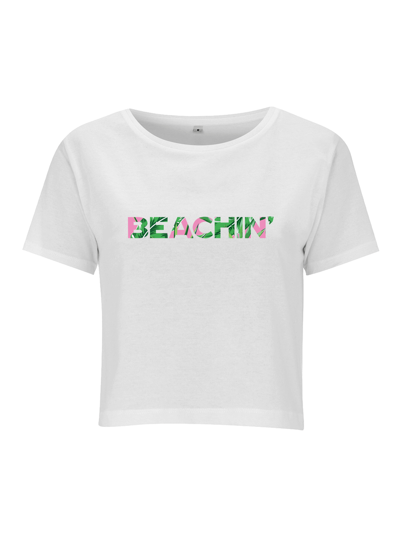 BEACHIN' crop top