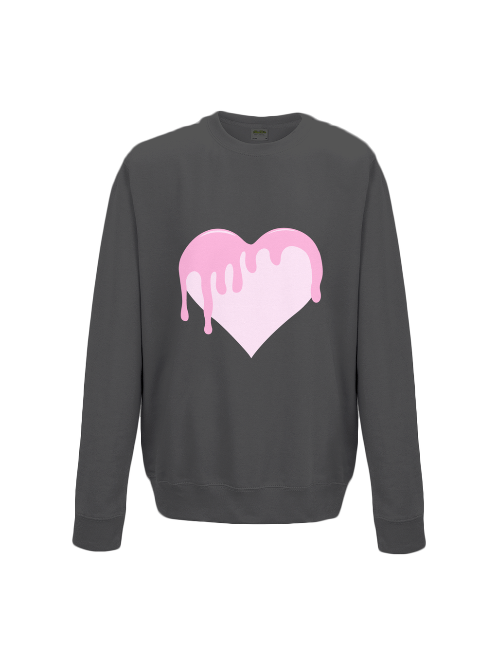 BLEEDING LOVE sweatshirt in black