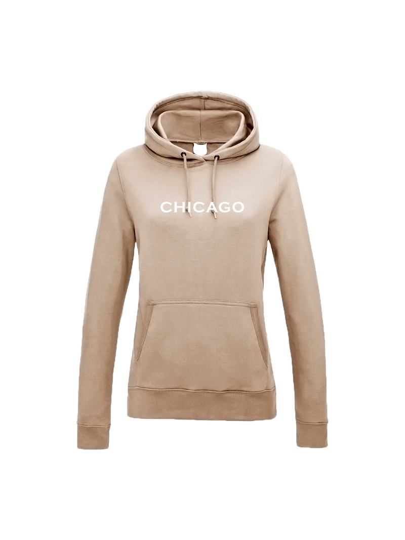 CHICAGO hoodie in nude