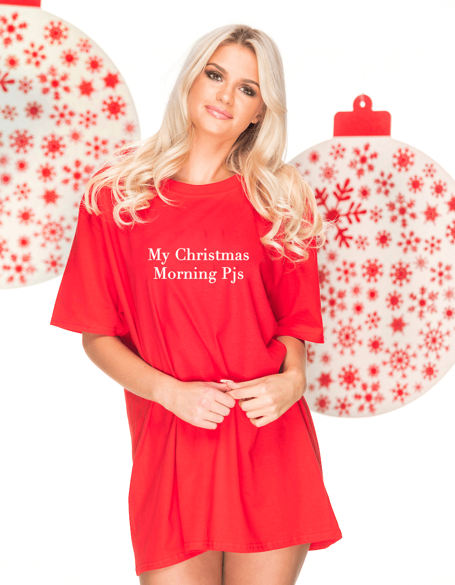 CHRISTMAS MORNING Sleep Tee Pyjamas