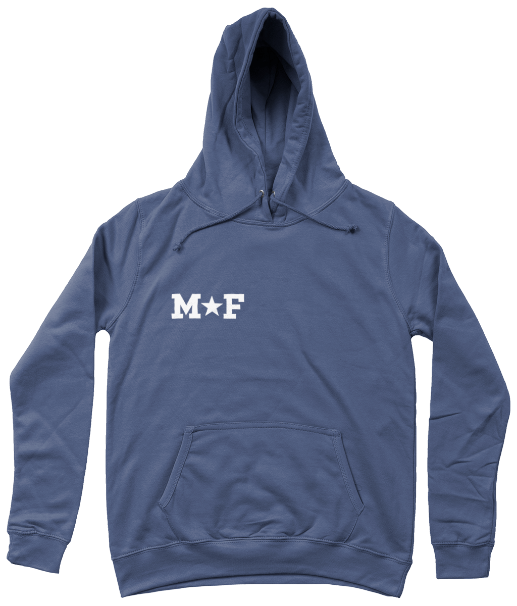 Personalised hoodie with star detail