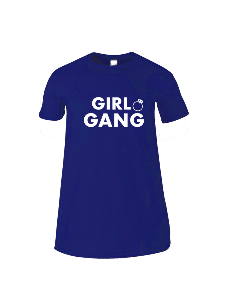 GIRL GANG bridal party sleep tee