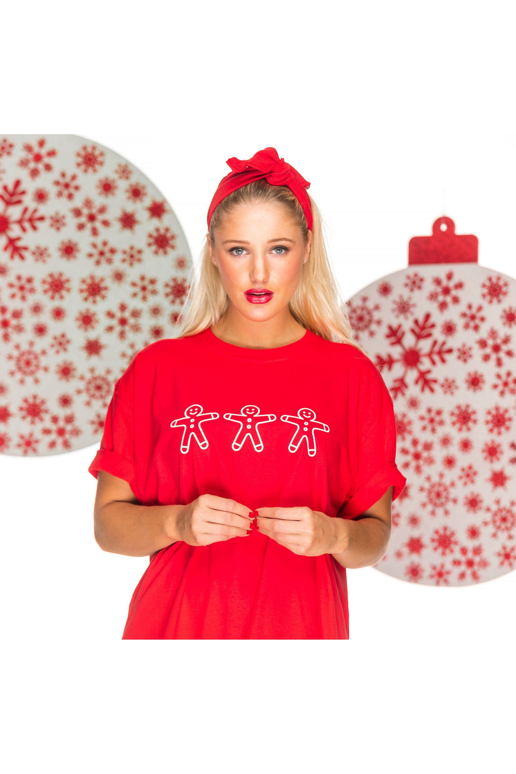 GINGERBREAD Christmas Sleep Tee Pyjamas