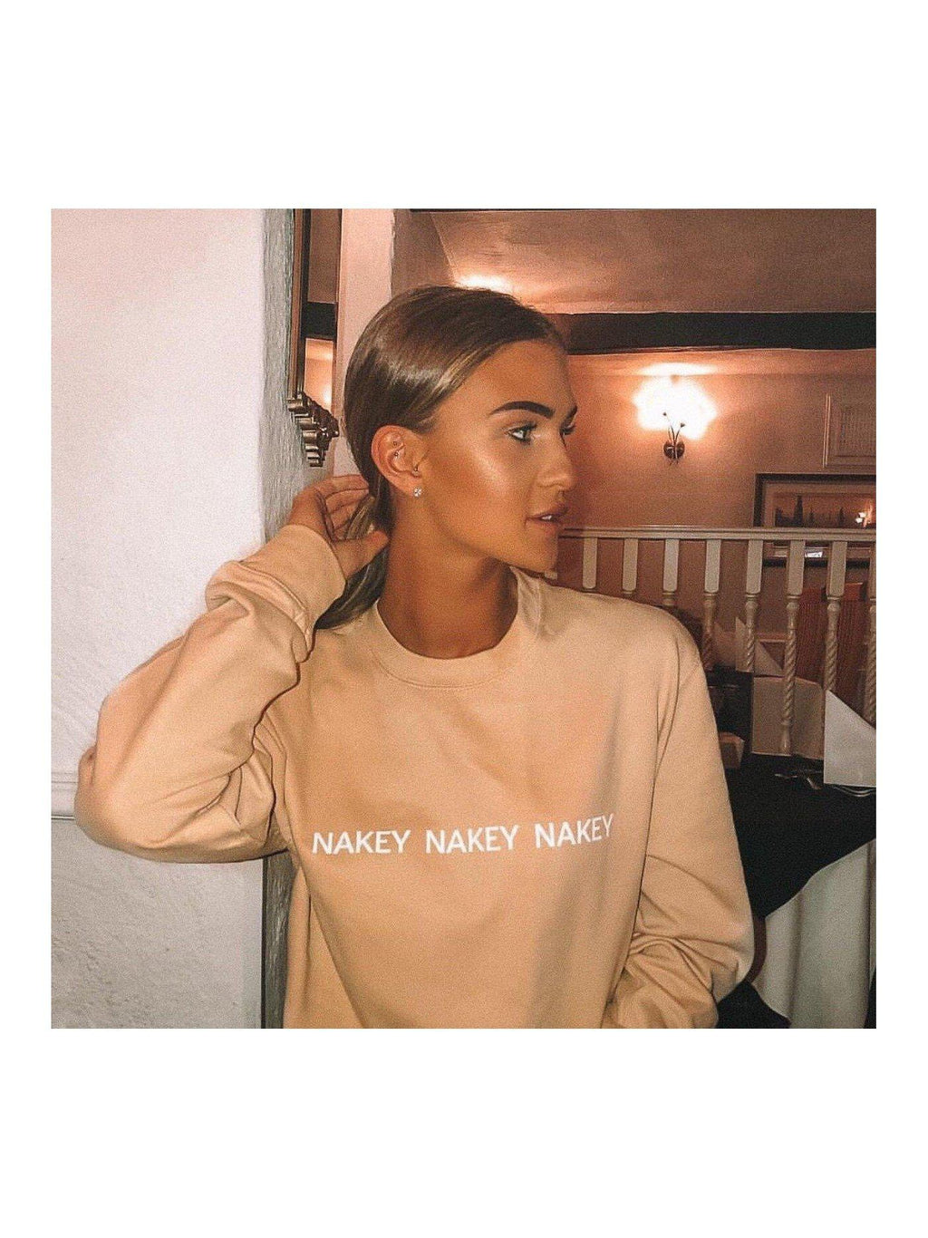 NAKEY NAKEY sweatshirt