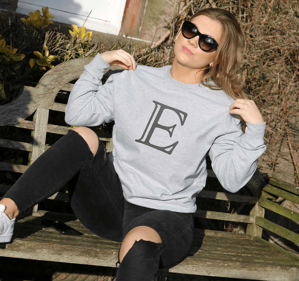 Personalised LETTER sweatshirt