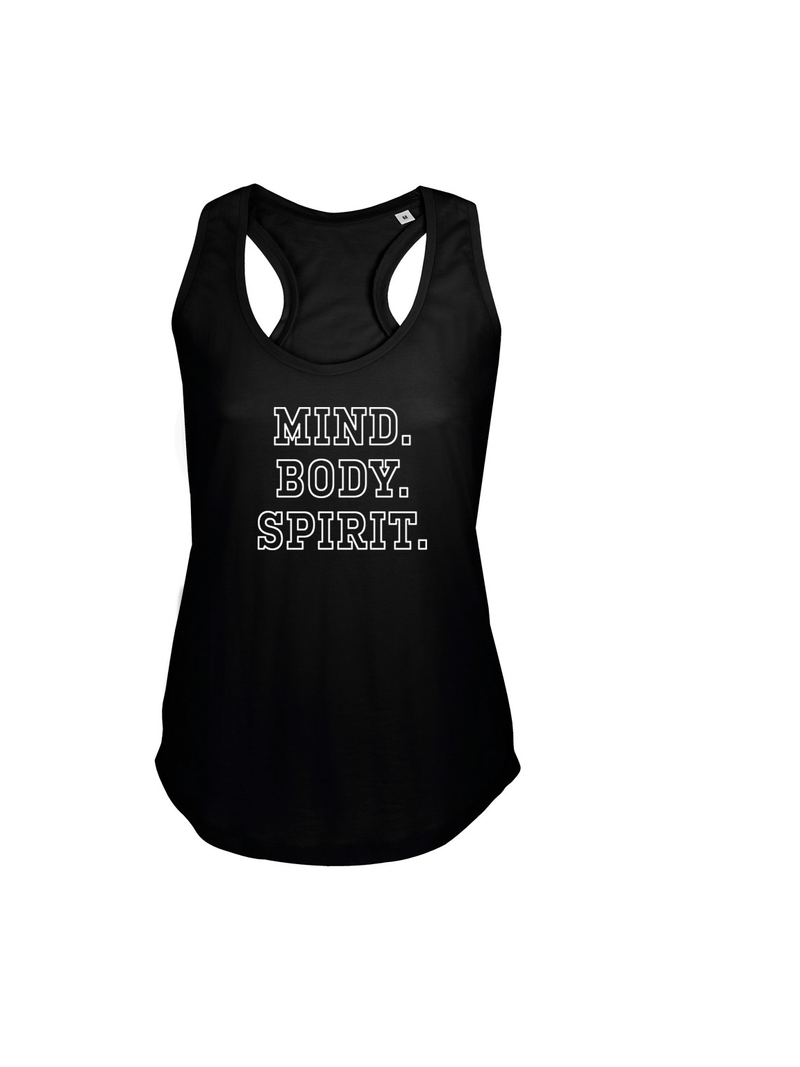 MIND BODY SPIRIT gym top