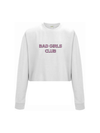 BAD GIRLS CLUB cropped sweatshirt