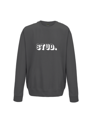 STUD sweatshirt in black