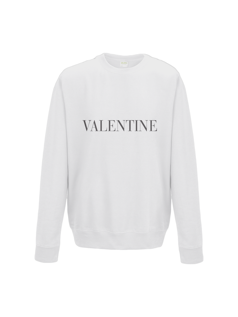 VALENTINE sweatshirt in white