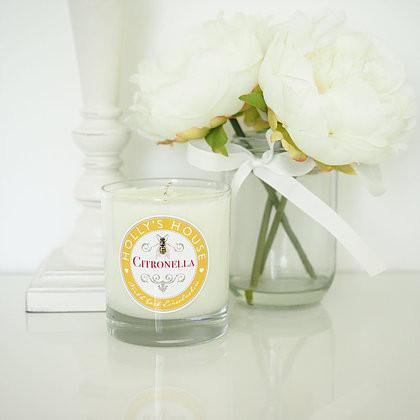 Citronella Luxury Scented Candle