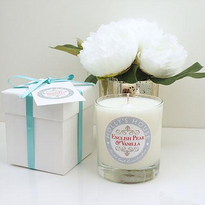English Pear & Vanilla Luxury Scent Candle