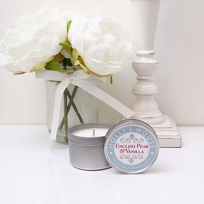 English Pear & Vanilla 100ml Candle Tin