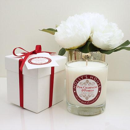Pink Champagne & Pomelo Luxury Scented Candle