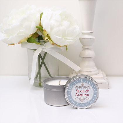 Sloe & Almond 100ml Candle Tin