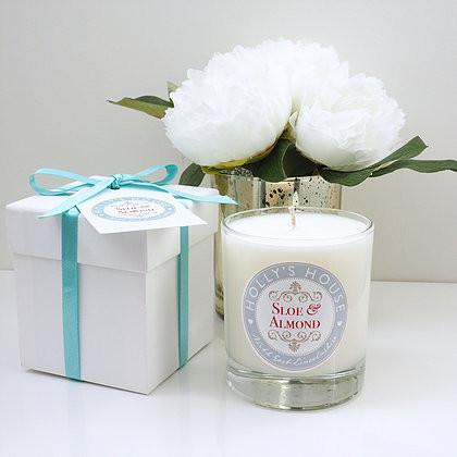 Sloe & Almond Luxury Scented Candle