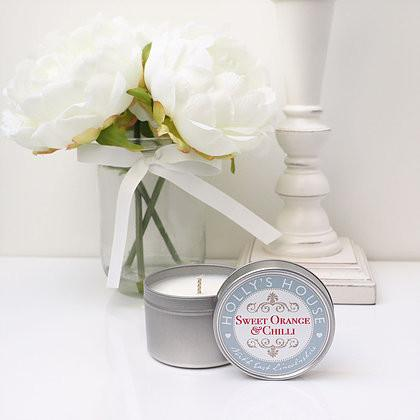 Sweet Orange & Chilli 100ml Scented Candle