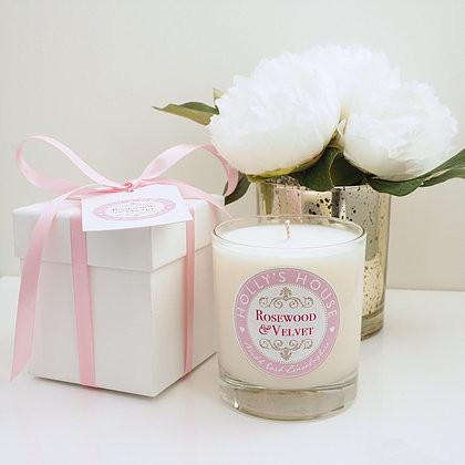 Rosewood & Velvet Luxury Scented Candle