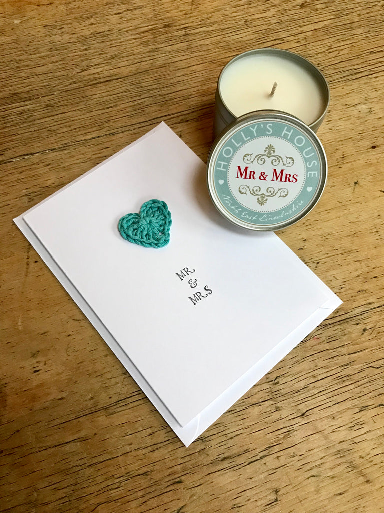 'Mr & Mrs' Card