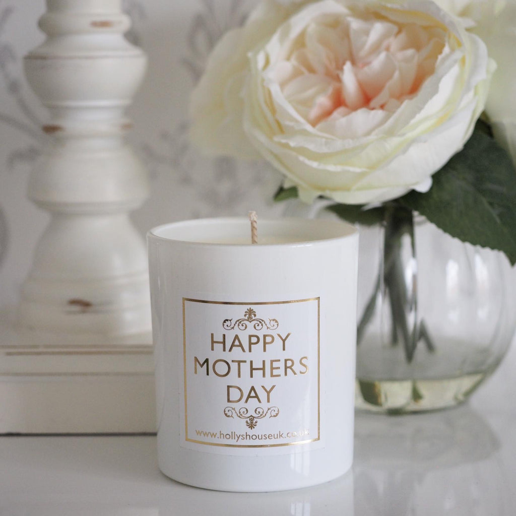 Luxury Gold 'Happy Mother's Day' Candle