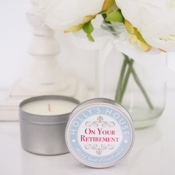 On Your Retirement Scented Candle