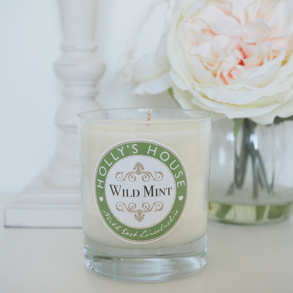 Wild Mint Luxury Scented Candle