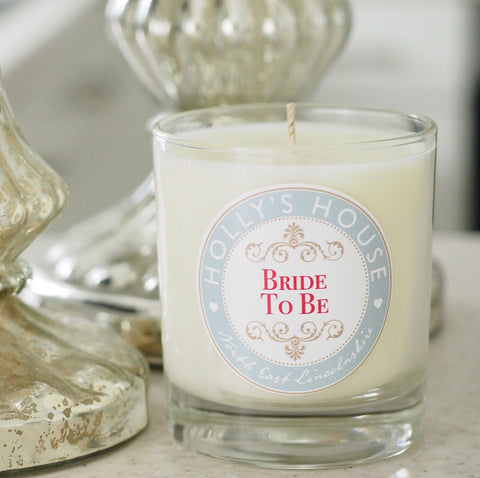 Bride To Be Scented Candle