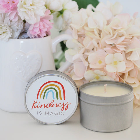 Kindness is Magic Candle Tin Gift Bundle