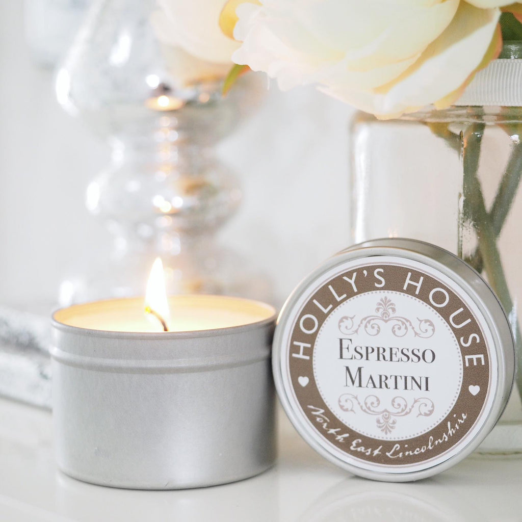Espresso Martini 100ml Candle Tin