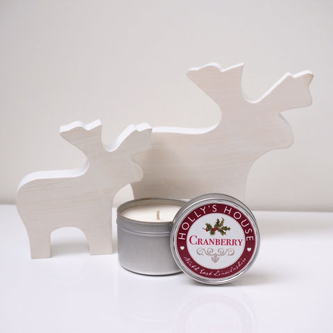 Cranberry 100ml Candle Tin