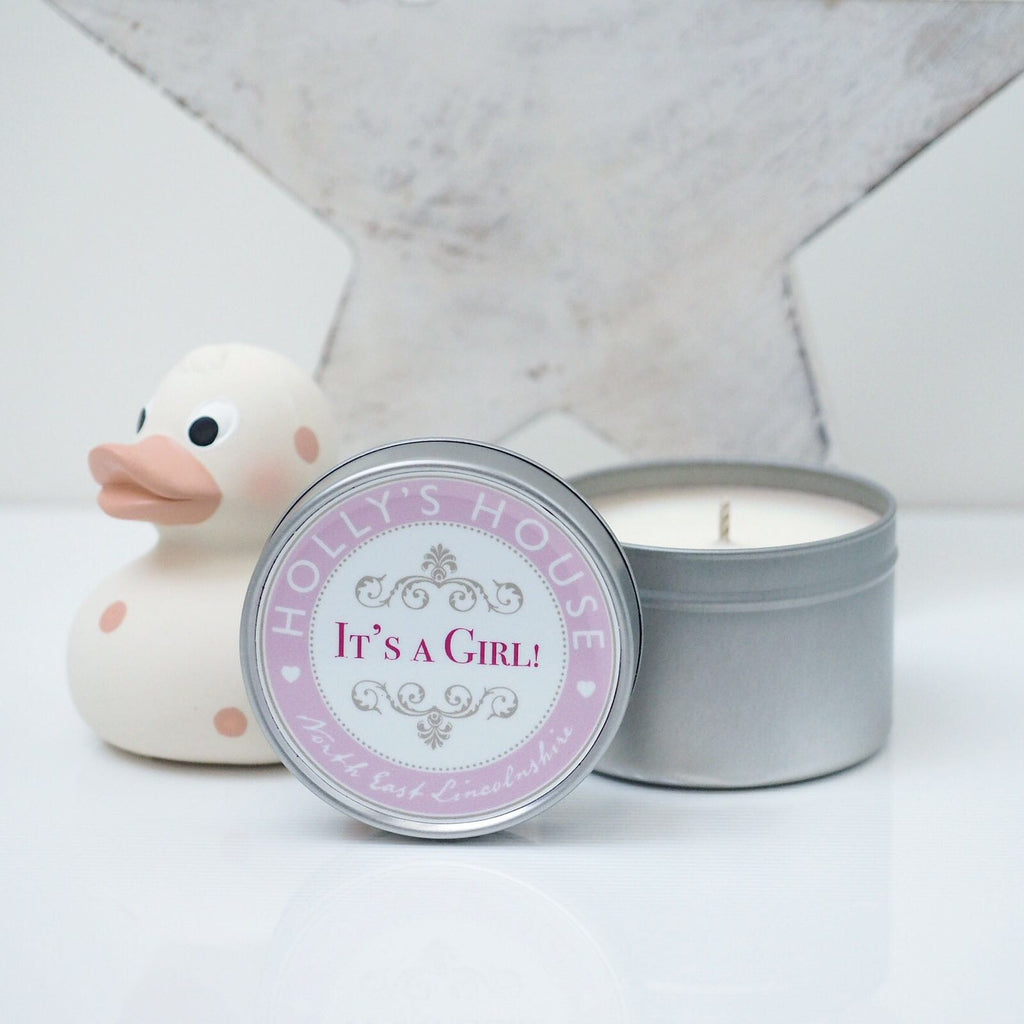 It's a Girl Scented Candle