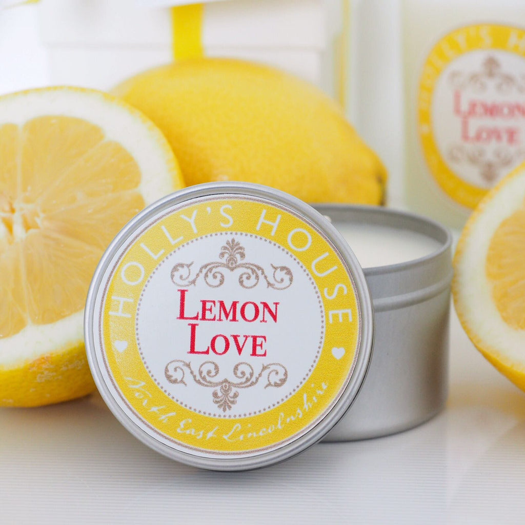 Lemon Love 100ml Candle Tin