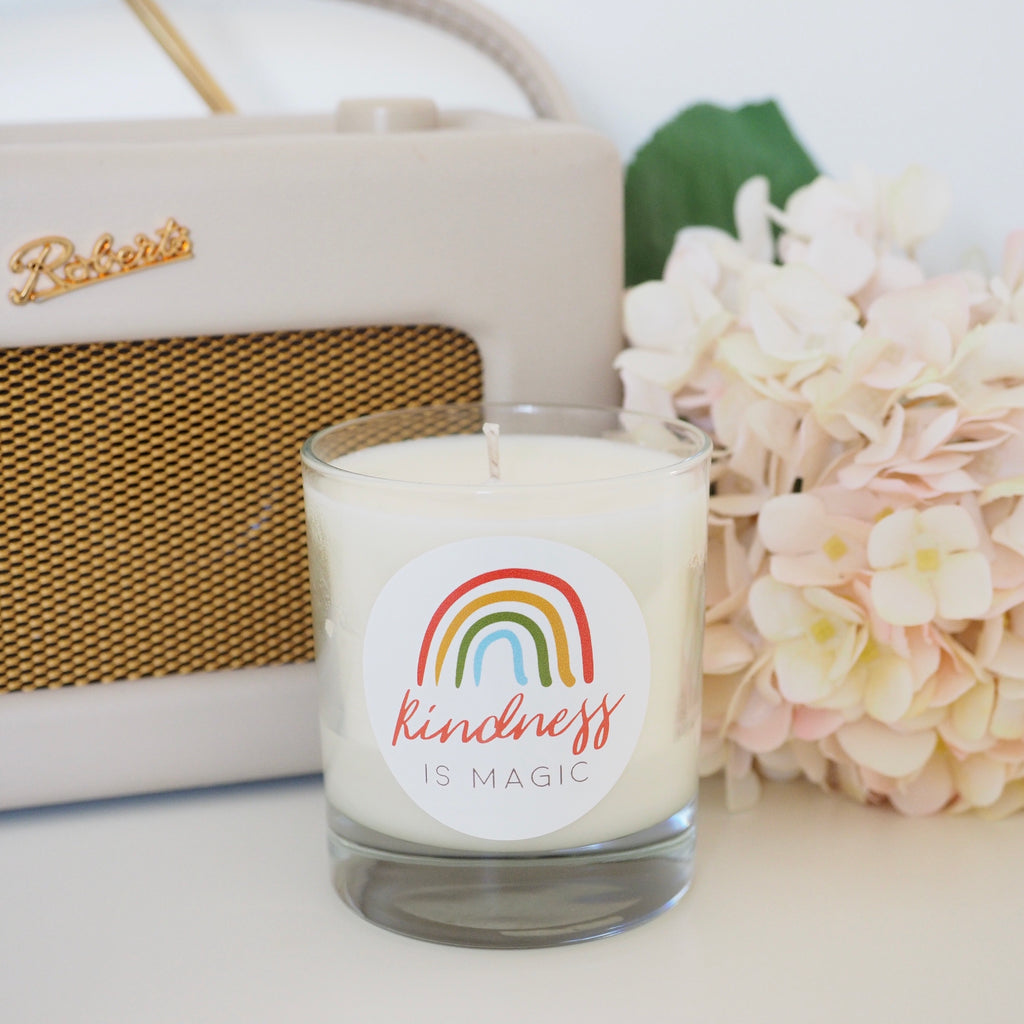 Luxury 'Kindness Is Magic' Candle