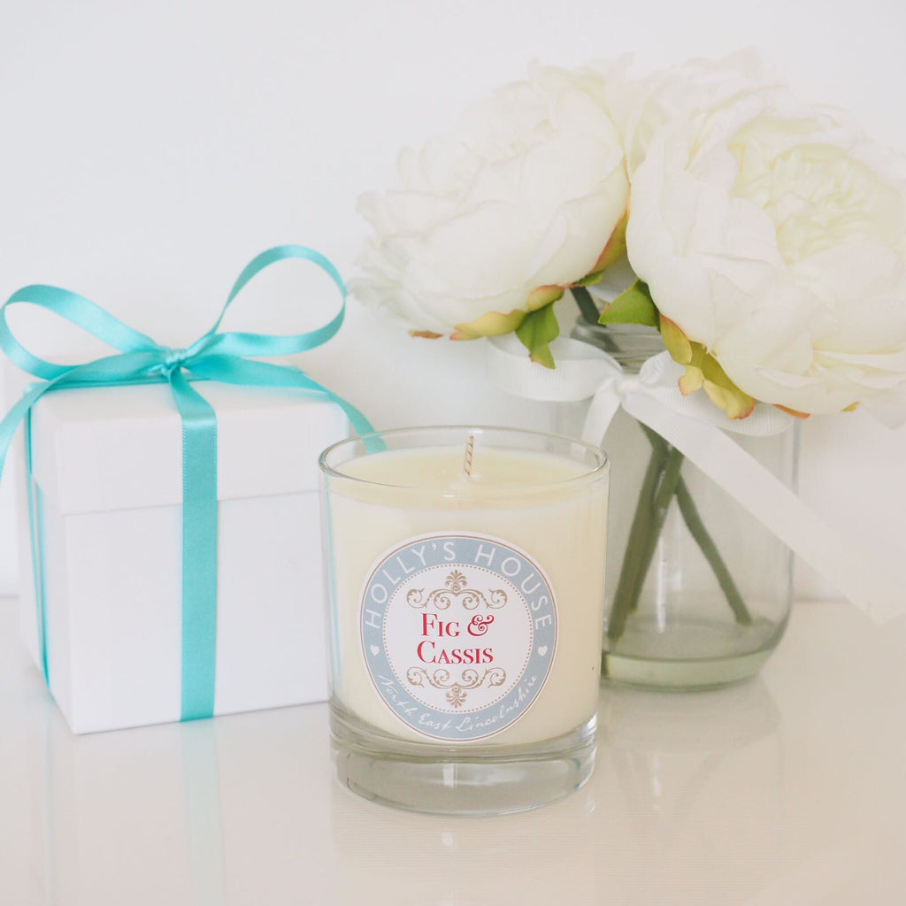 Fig & Cassis Luxury Scented Candle
