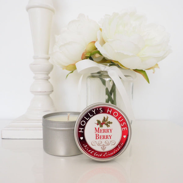 Merry Berry 100ml Candle Tin