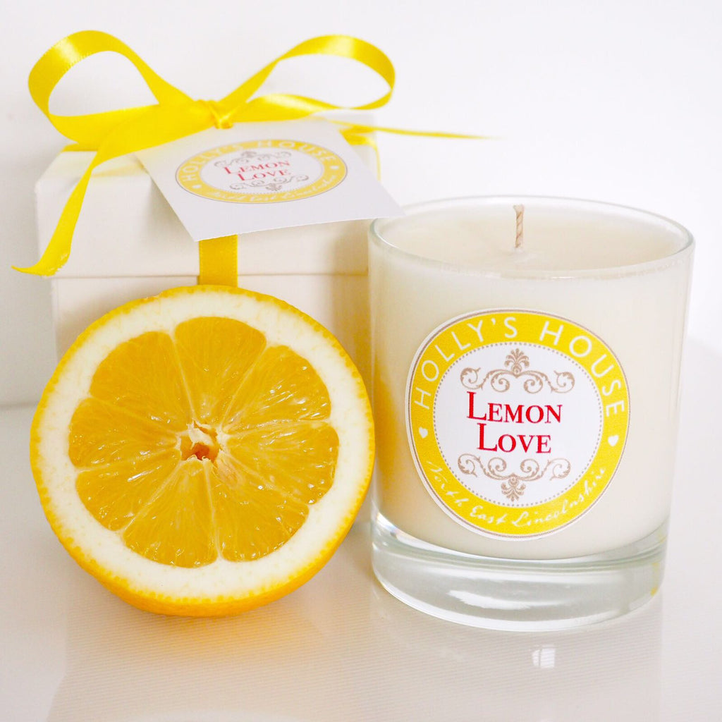 Lemon Love Luxury Scented Candle