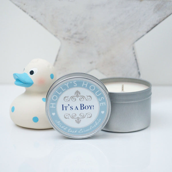 It's a Boy Scented Candle