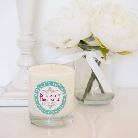 Rocksalt & Driftwood Luxury Scented Candle