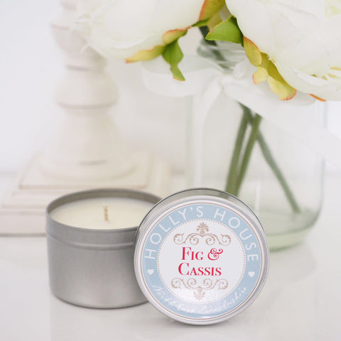 Fig & Cassis 100ml Candle Tin