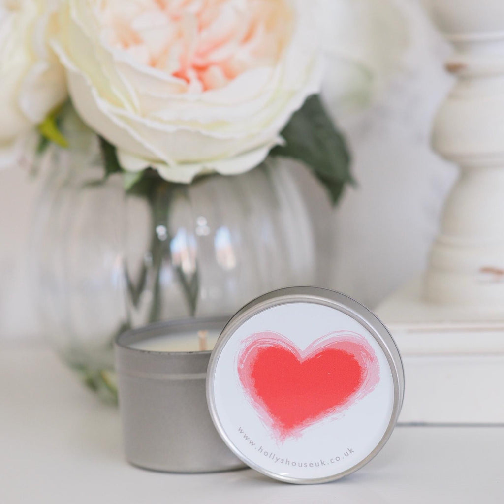 Love 100ml Candle Tin