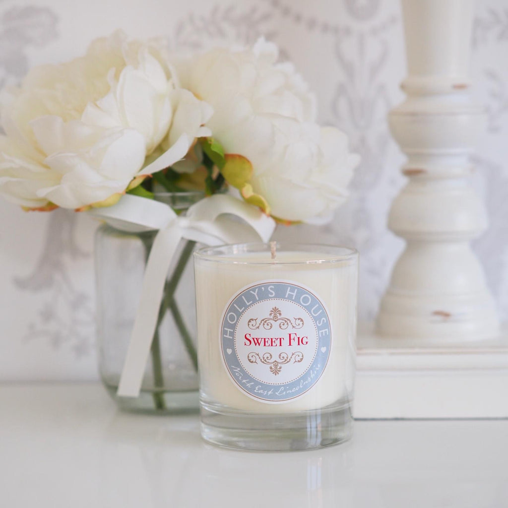 Sweet Fig Luxury Scented Candle