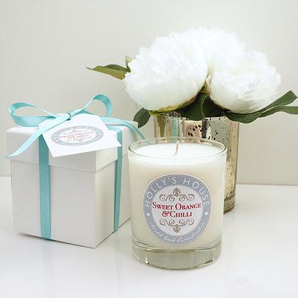 Sweet Orange & Chilli Luxury Scented Candle