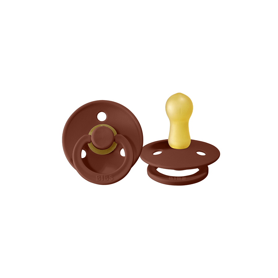"Pacifier ""Rust / Smoke"" Pack of 2"