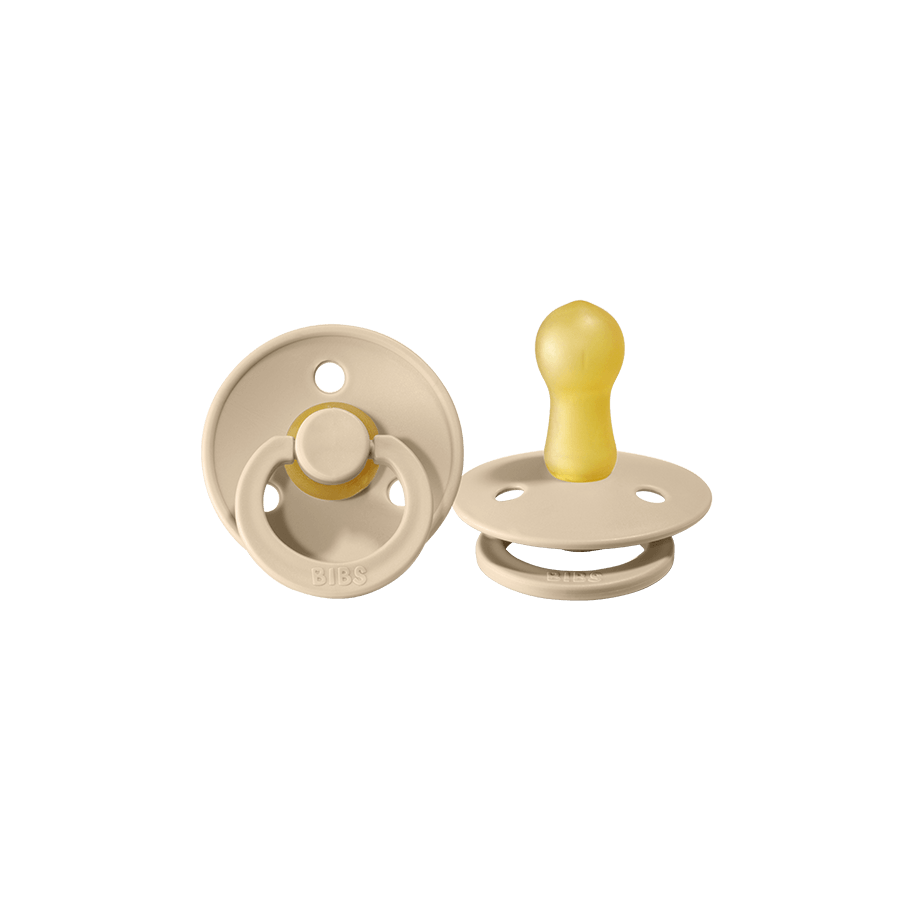 "Pacifier ""Vanilla / Peach"" Pack of 2"