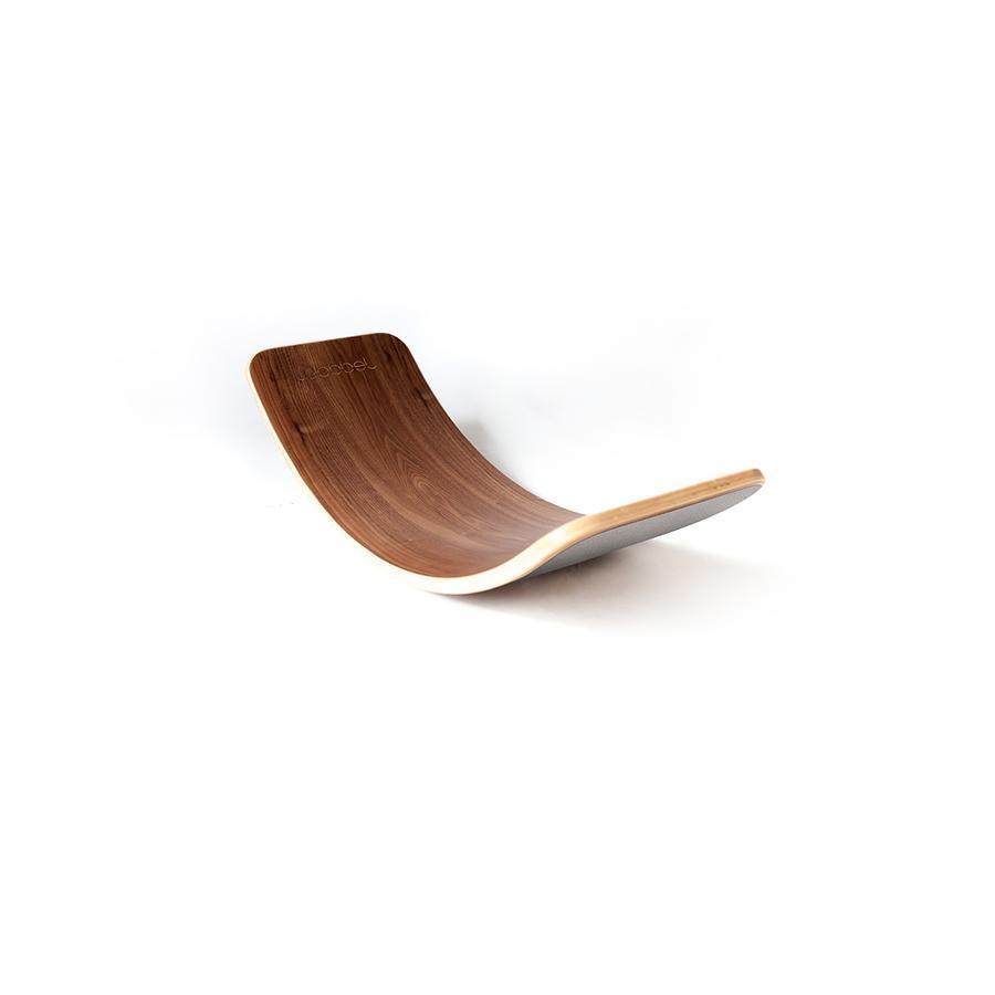 "Balance Board ""Wobbel Original Walnut Filz Mouse"""